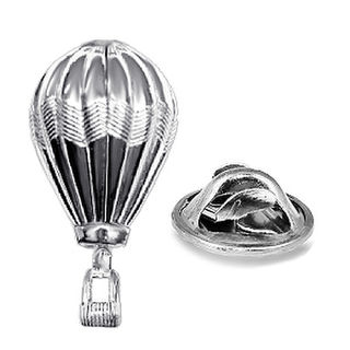 Hot Air Balloon Lapel Pin