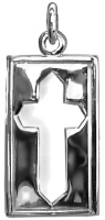 Plain Edge Cut Out Cross