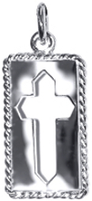 Rope Edge Cut Out Cross