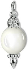 Christmas Decoration White Agate