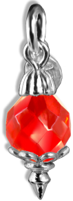 Christmas Decoration Red Crystal